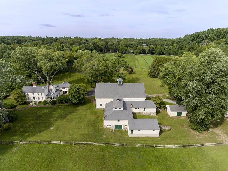 buttrick farm a luxury home for sale in concord. Black Bedroom Furniture Sets. Home Design Ideas