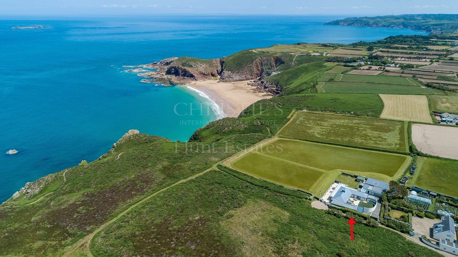 Single Family Home for Sale at Stunning home with breathtaking far reaching sea views St Ouen,JE3 2AB Jersey