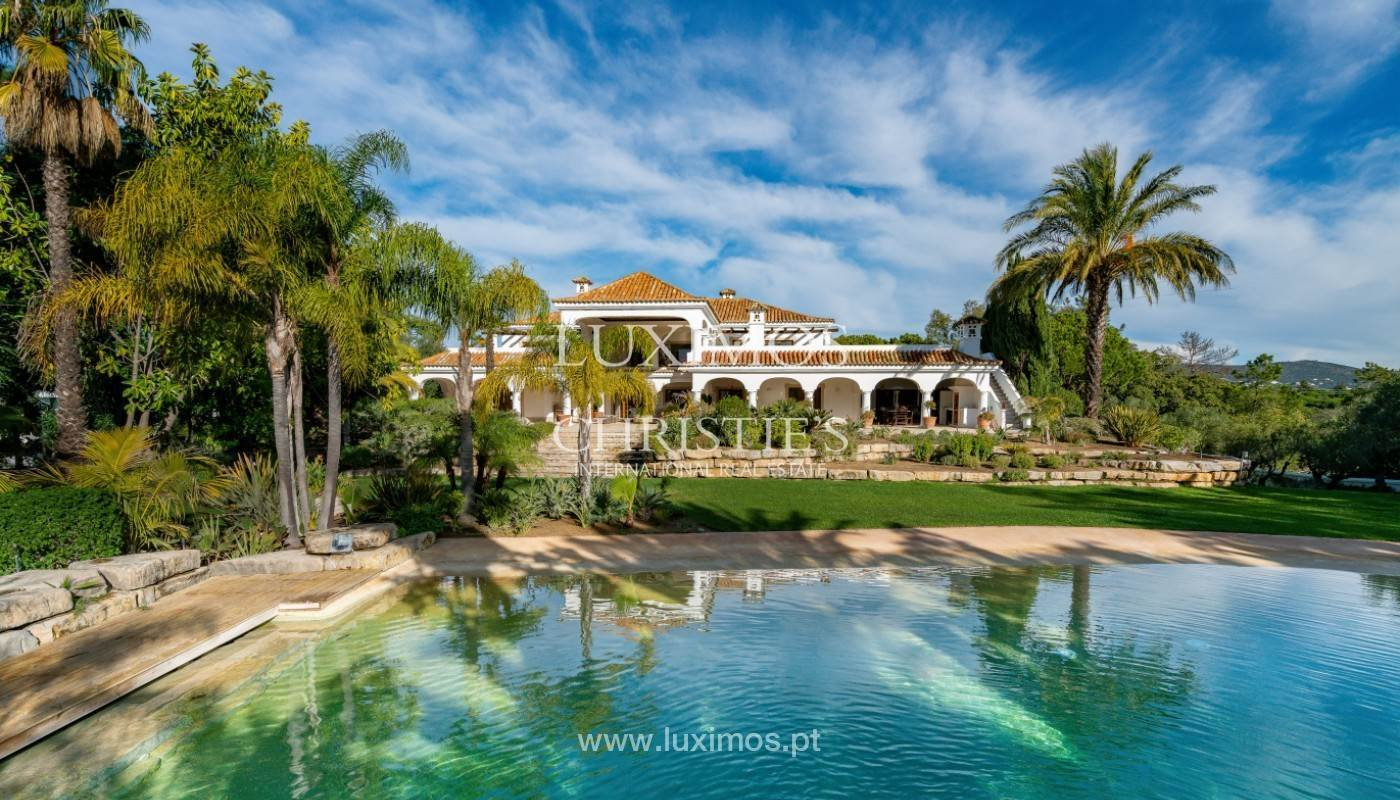 Villa/Townhouse for Sale at Wonderful Villa with artificial beach, close to Quinta do Lago, Algarve. Loule, Algarve,8135-171 Portugal