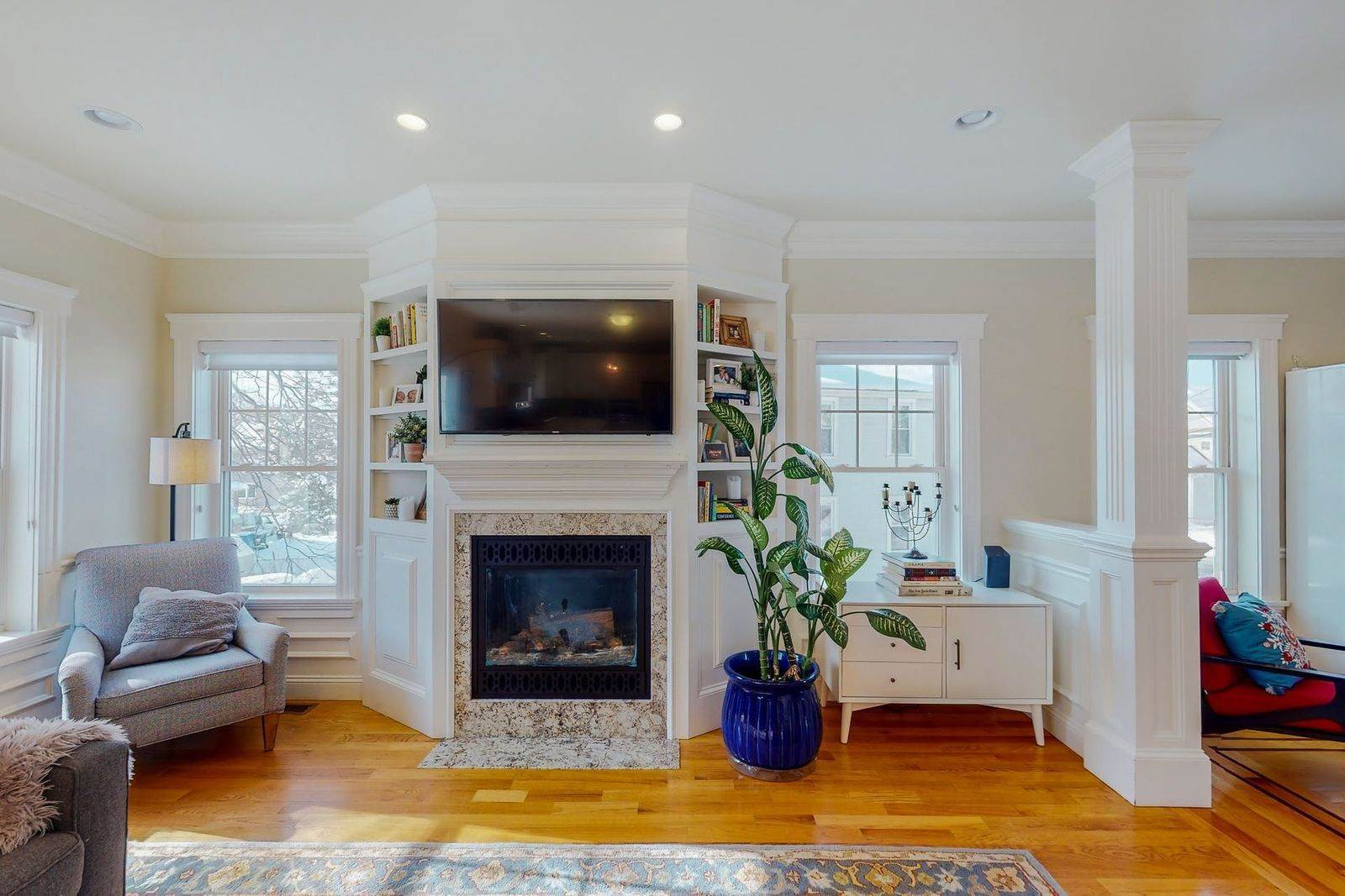19. Single Family Home for Sale at 109 Waverley Street 109 Waverley St Belmont, Massachusetts,02478 United States