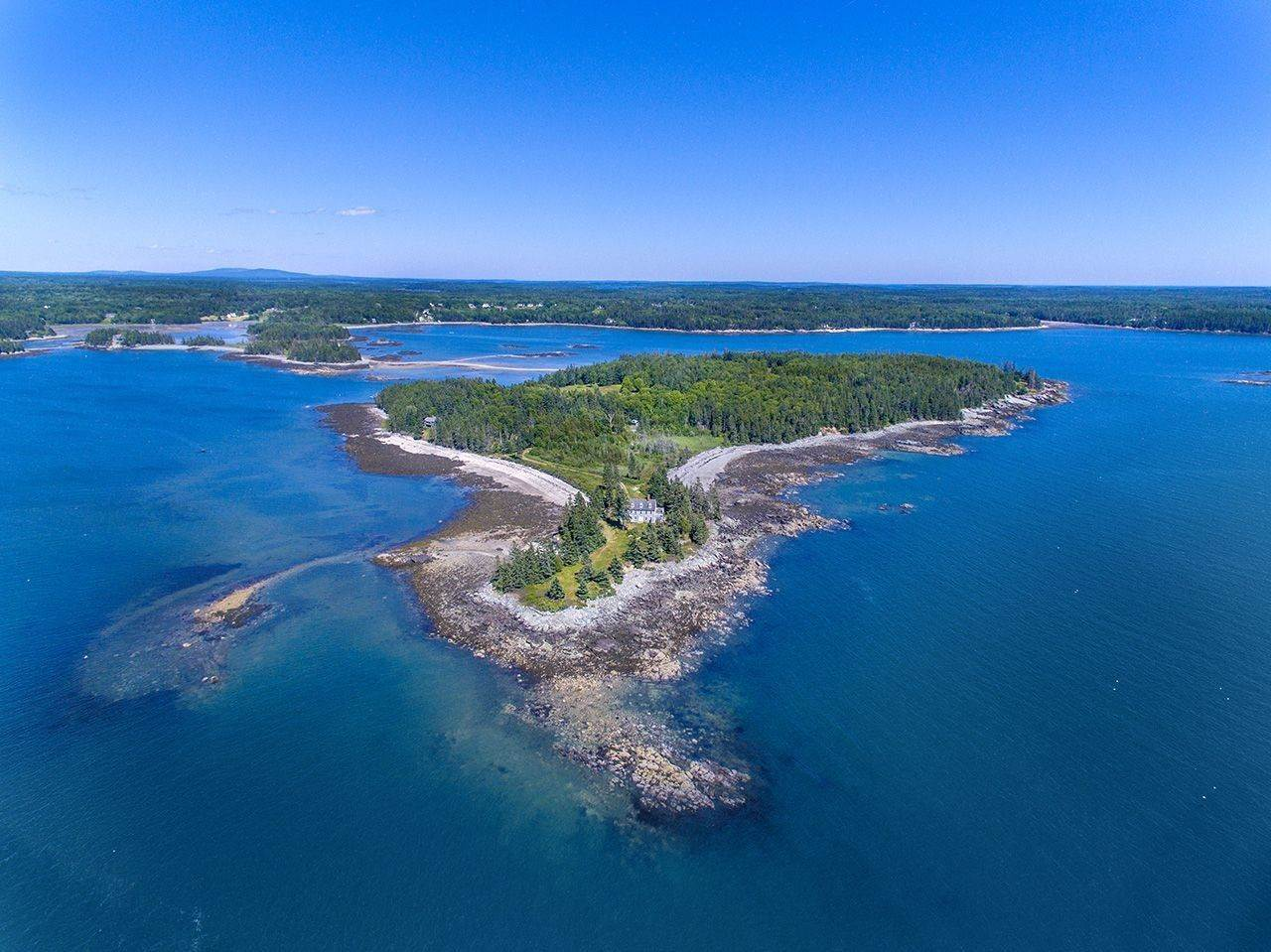 Single Family Home 용 매매 에 0 Sheephead Island Deer Isle, 마이애미,04627 미국