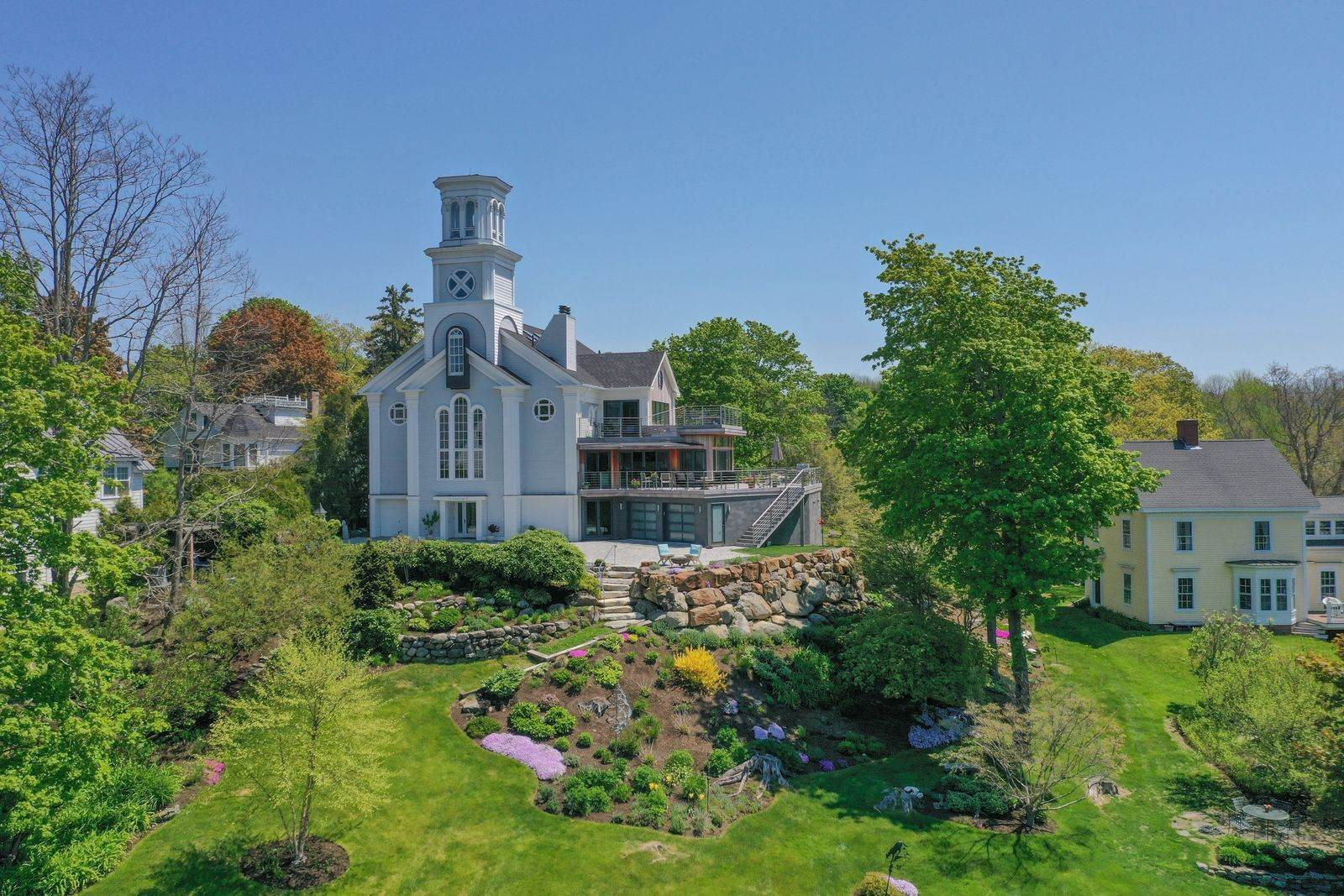 Single Family Home for Sale at Rockport Harbor Views 150 Russell Ave Rockport, Maine,04856 United States