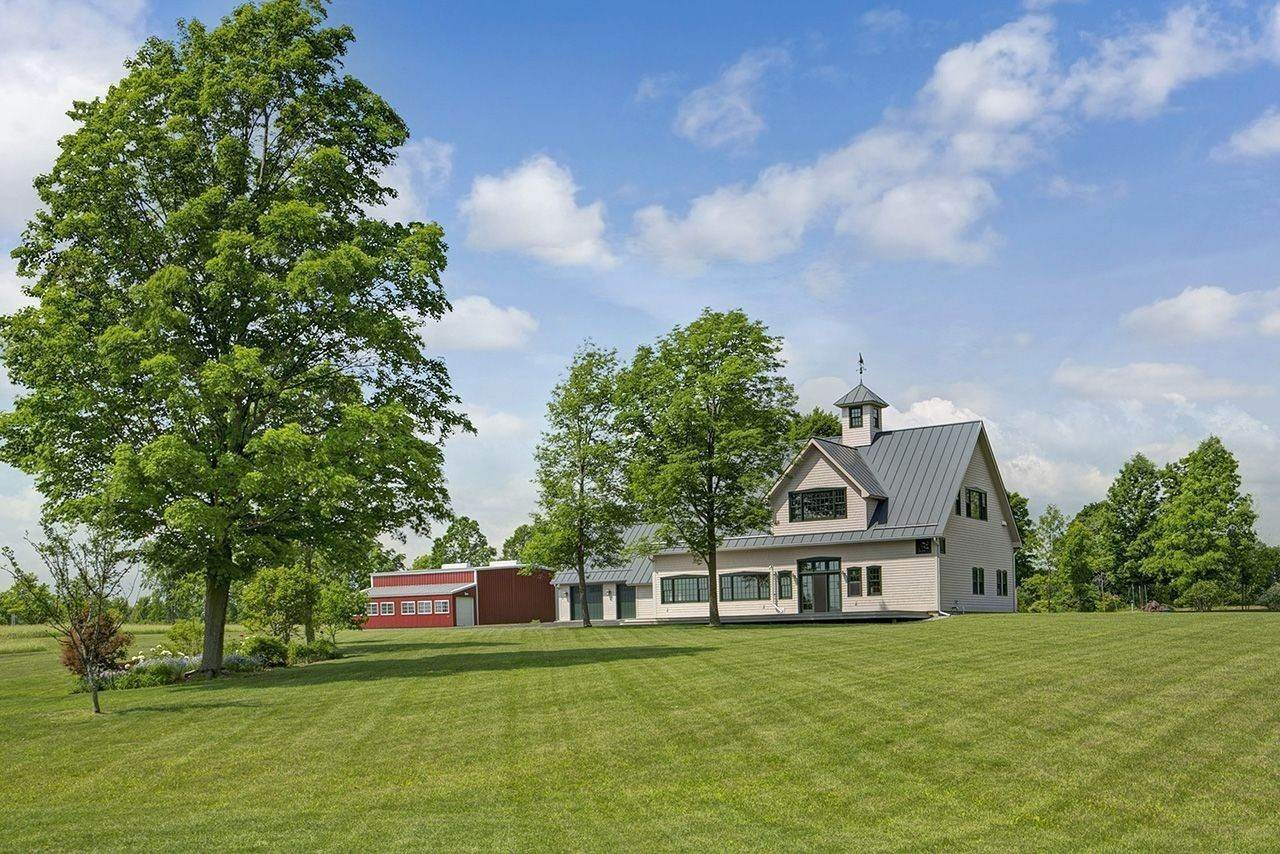 4. Single Family Home por un Venta en Twin View Farm 1075 Grandey Rd Addison, Vermont,05491 Estados Unidos