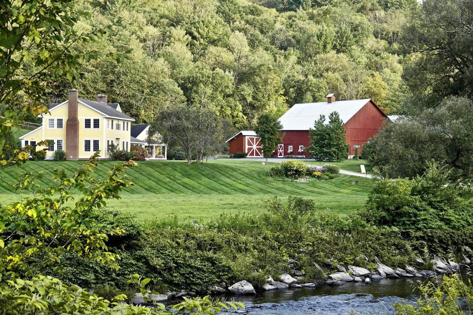 Single Family Home para Venda às Mountain Keep Farm 75 Bridge Rd Moretown, Vermont,05660 Estados Unidos