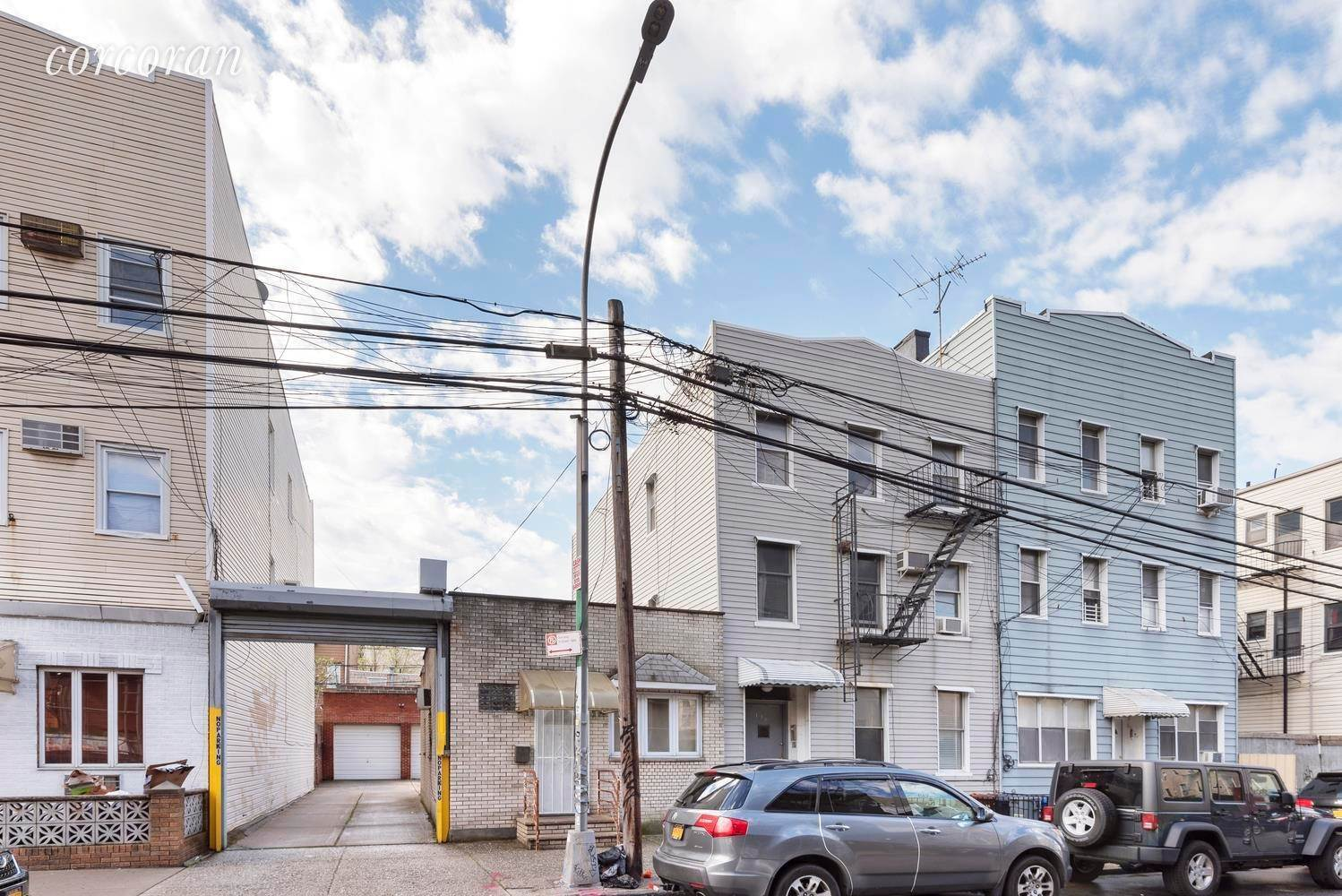 Multi Family Townhouse for Sale at 138 Frost Street Brooklyn, New York,11211 United States