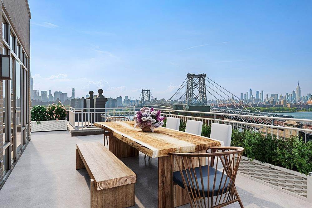 Condominium for Sale at Gretsch 60 Broadway, PH-1A Brooklyn, New York,11249 United States