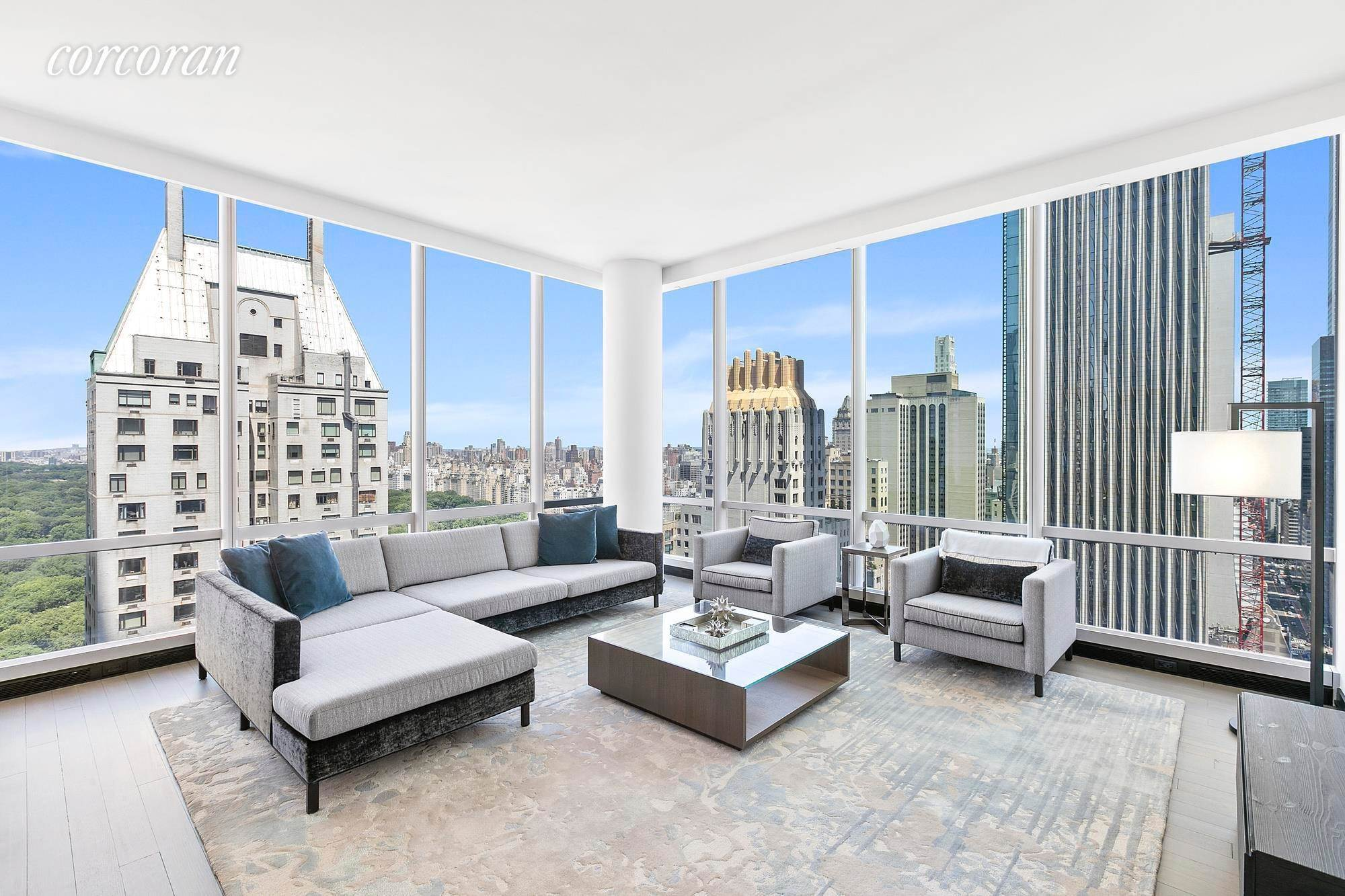 Condominium for Rent at One57 157 West 57th Street, 37F New York, New York,10019 United States
