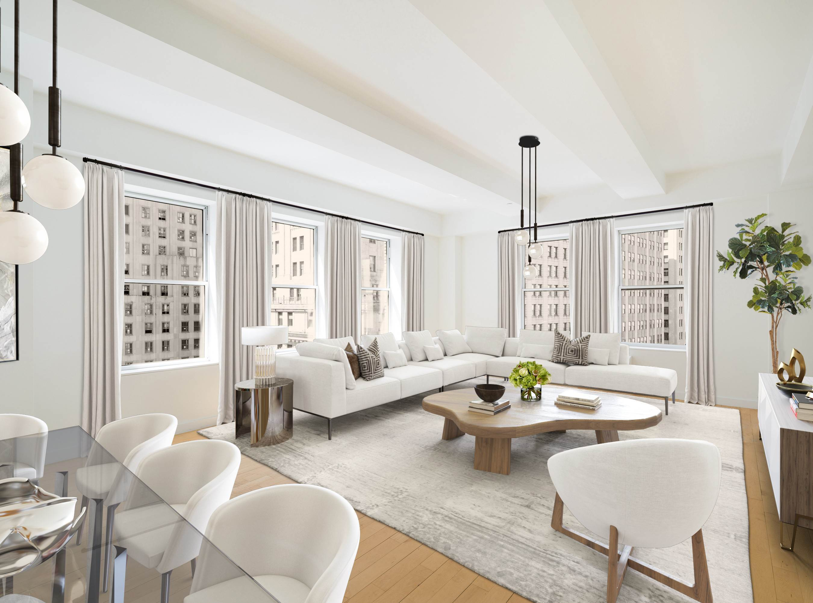 Condominium por un Venta en Downtown by Philippe Starck 15 Broad Street, 2210, New York, Nueva York,10005 Estados Unidos
