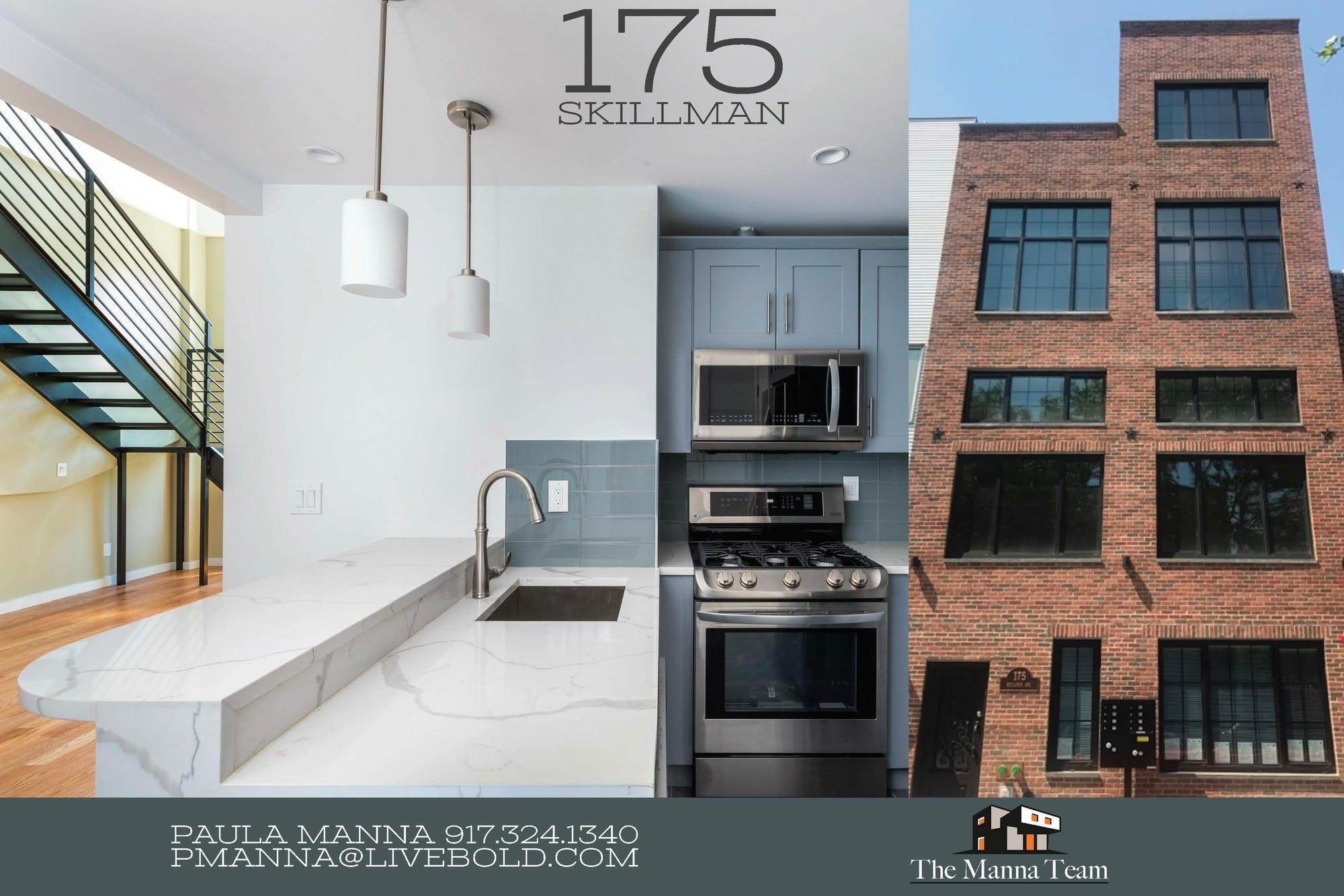 Multi Family Townhouse for Sale at 175 Skillman Avenue Brooklyn, New York,11211 United States
