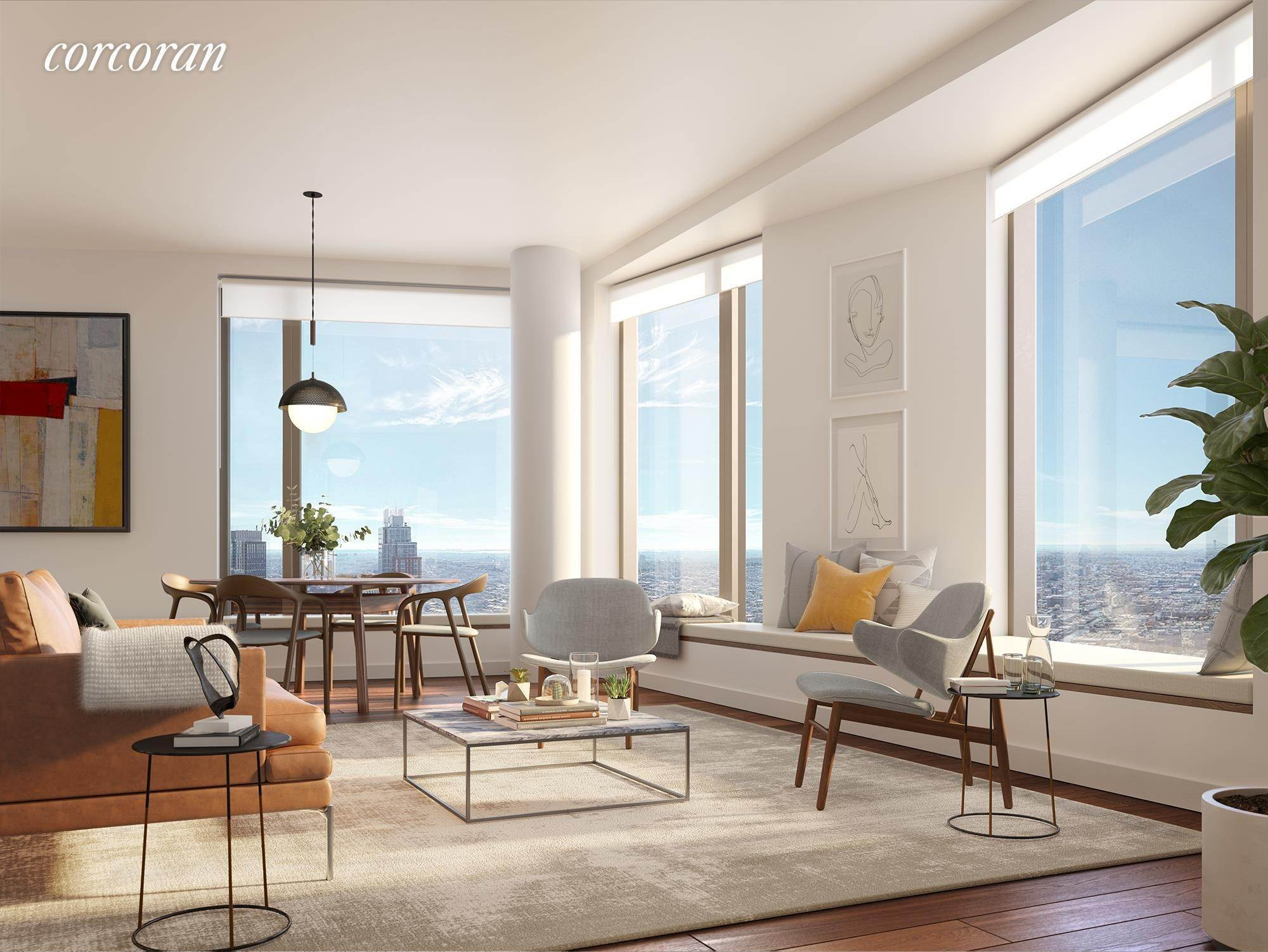 Condominium for Sale at 11 Hoyt Street, PHE Brooklyn, New York,11201 United States