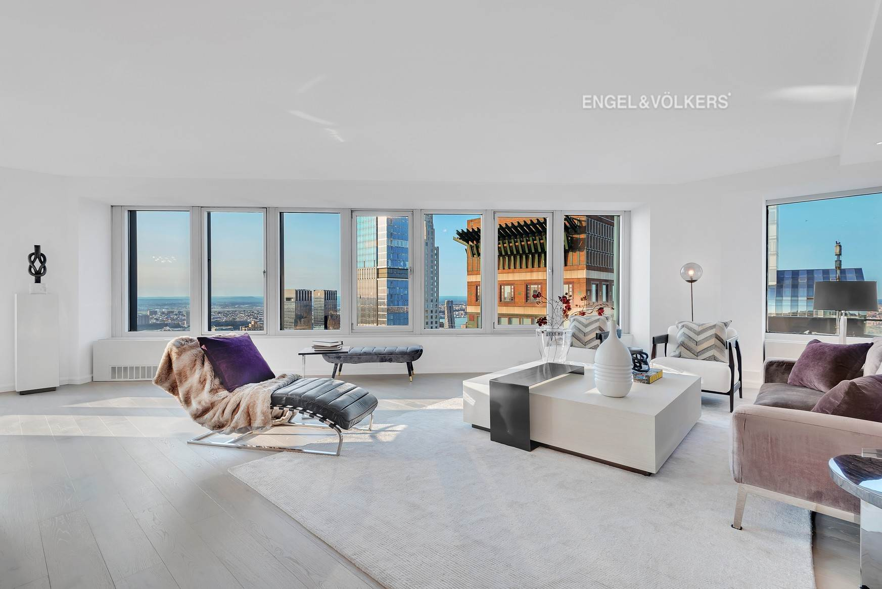 Condominium for Sale at CitySpire 150 West 56th Street, 7102 New York, New York,10019 United States