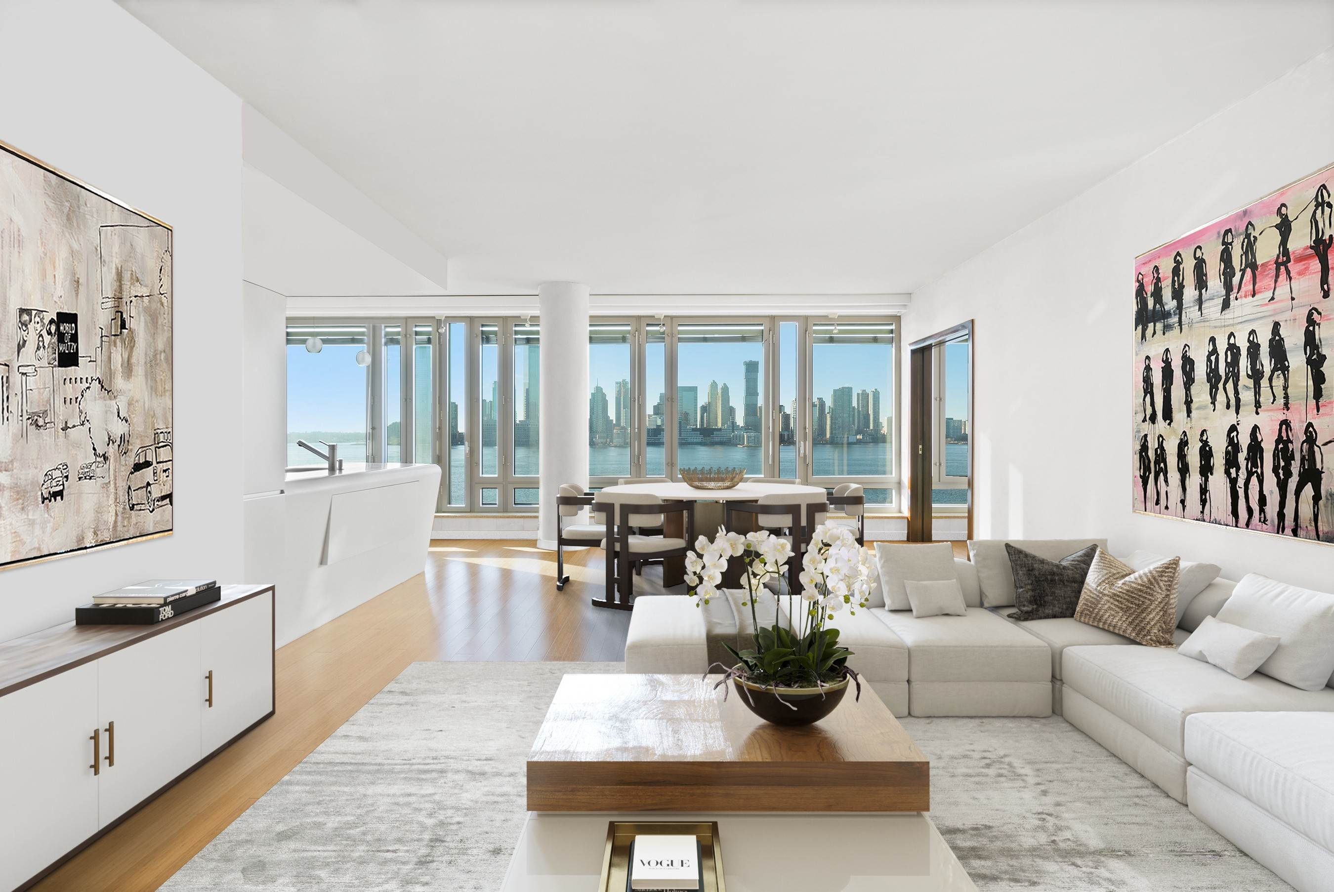 Condominium for Sale at Riverhouse 2 River Terrace, 7RS New York, New York,10282 United States