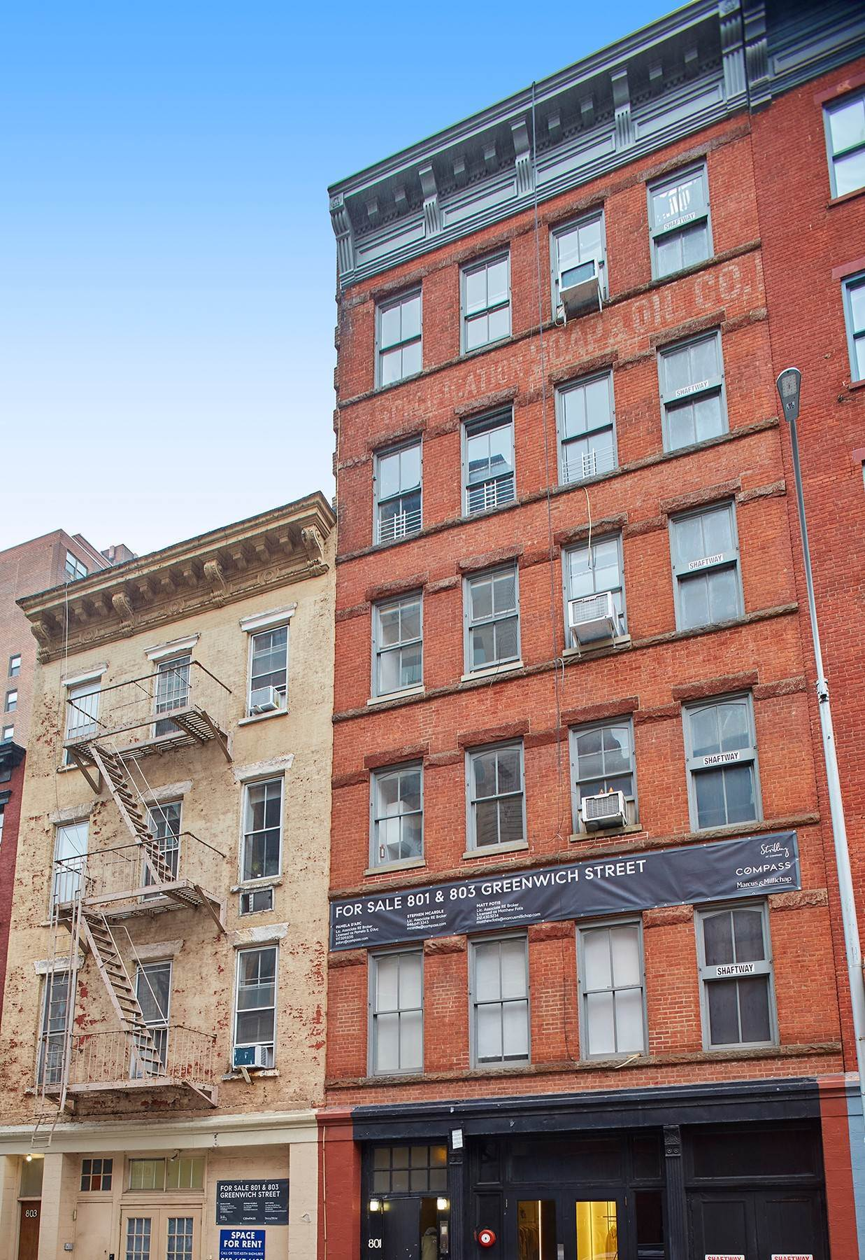 Multi Family Townhouse for Sale at 801-803 Greenwich St New York, New York,10014 United States