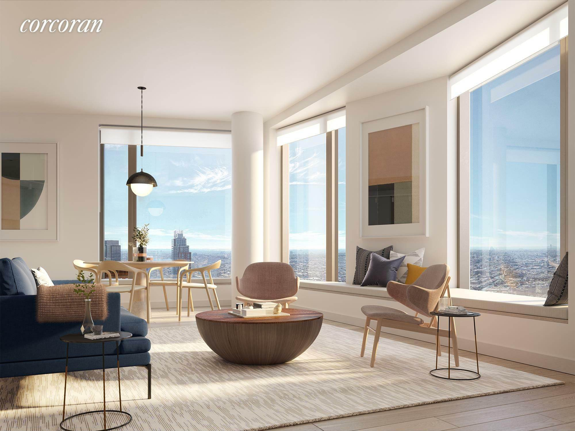Condominium for Sale at 11 Hoyt Street, 46H Brooklyn, New York,11201 United States