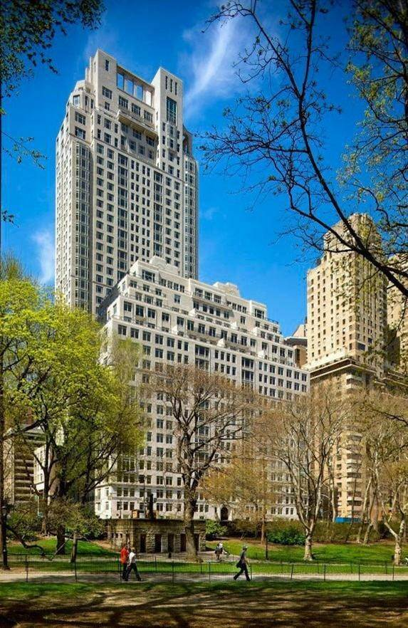 3. Condominium for Sale at 15 Central Park West, 27-B New York, New York,10023 United States