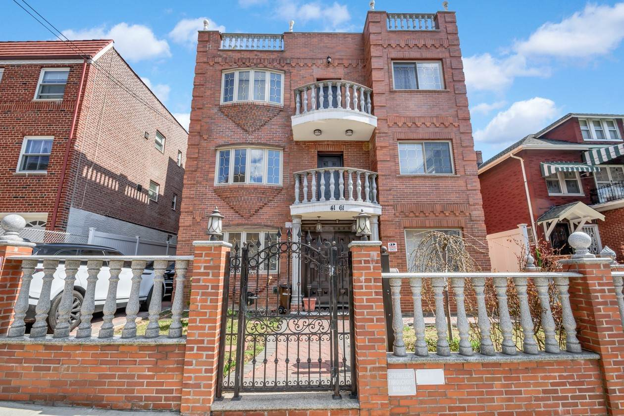Multi Family Townhouse for Sale at 41-61 63 STREET Woodside, New York,11377 United States