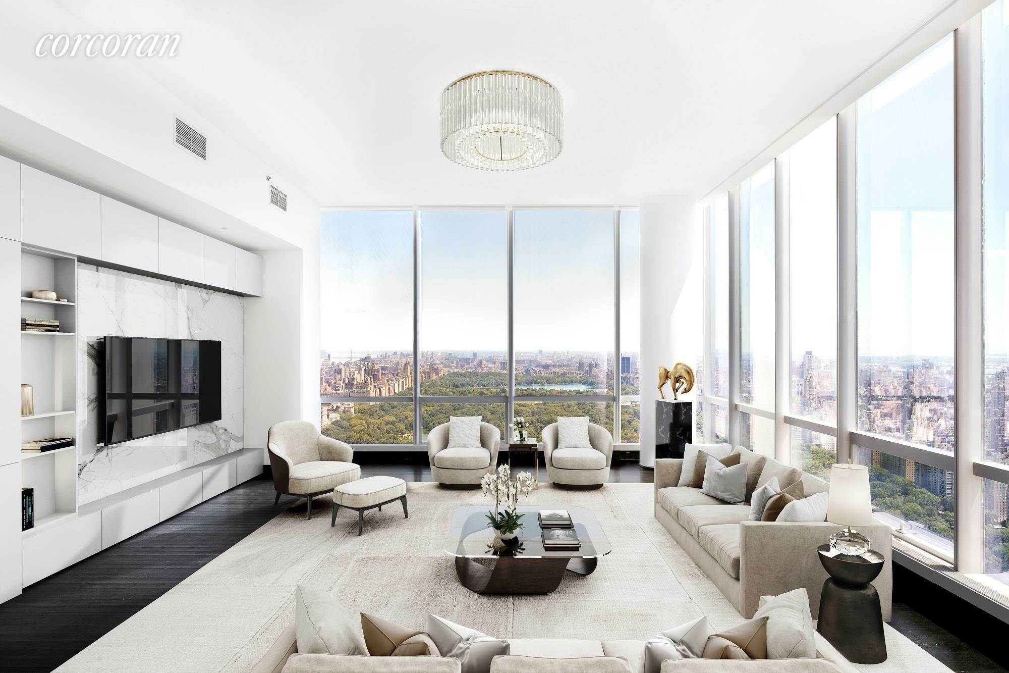 Condominium for Rent at One57 147-49 West 57th St, 56C New York, New York,10019 United States