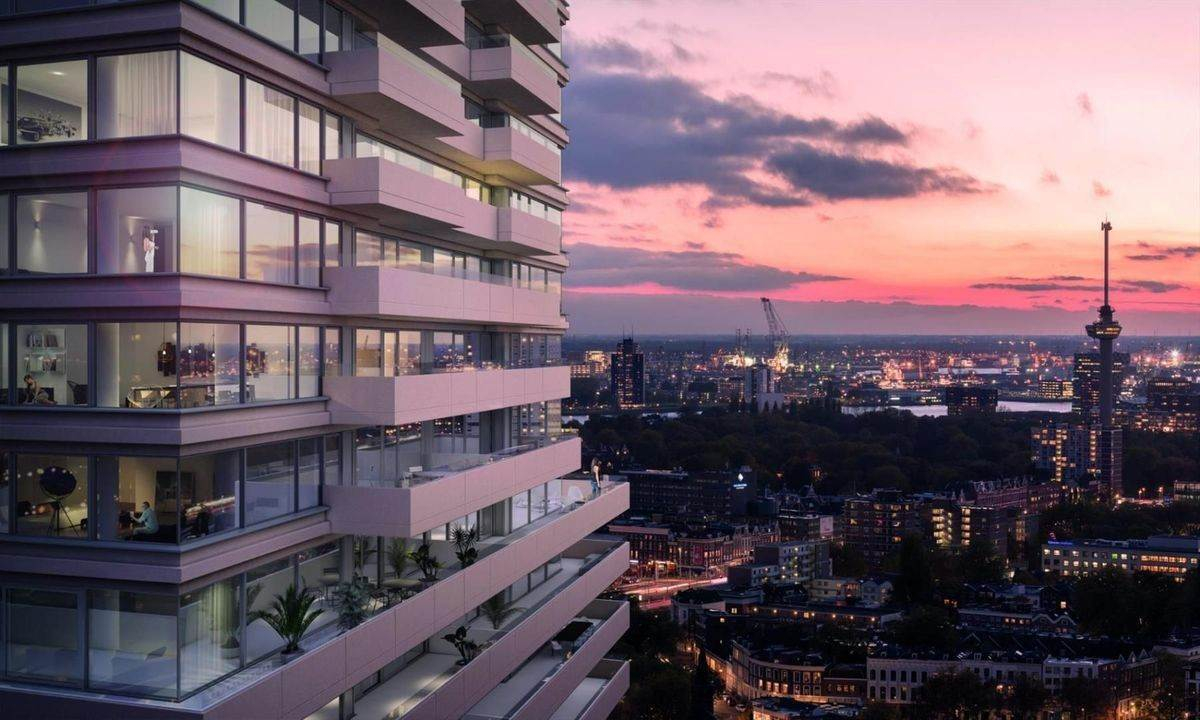 8. Residence/Apartment for Sale at Baan 64 f Rotterdam, South Holland,3011CC Netherlands
