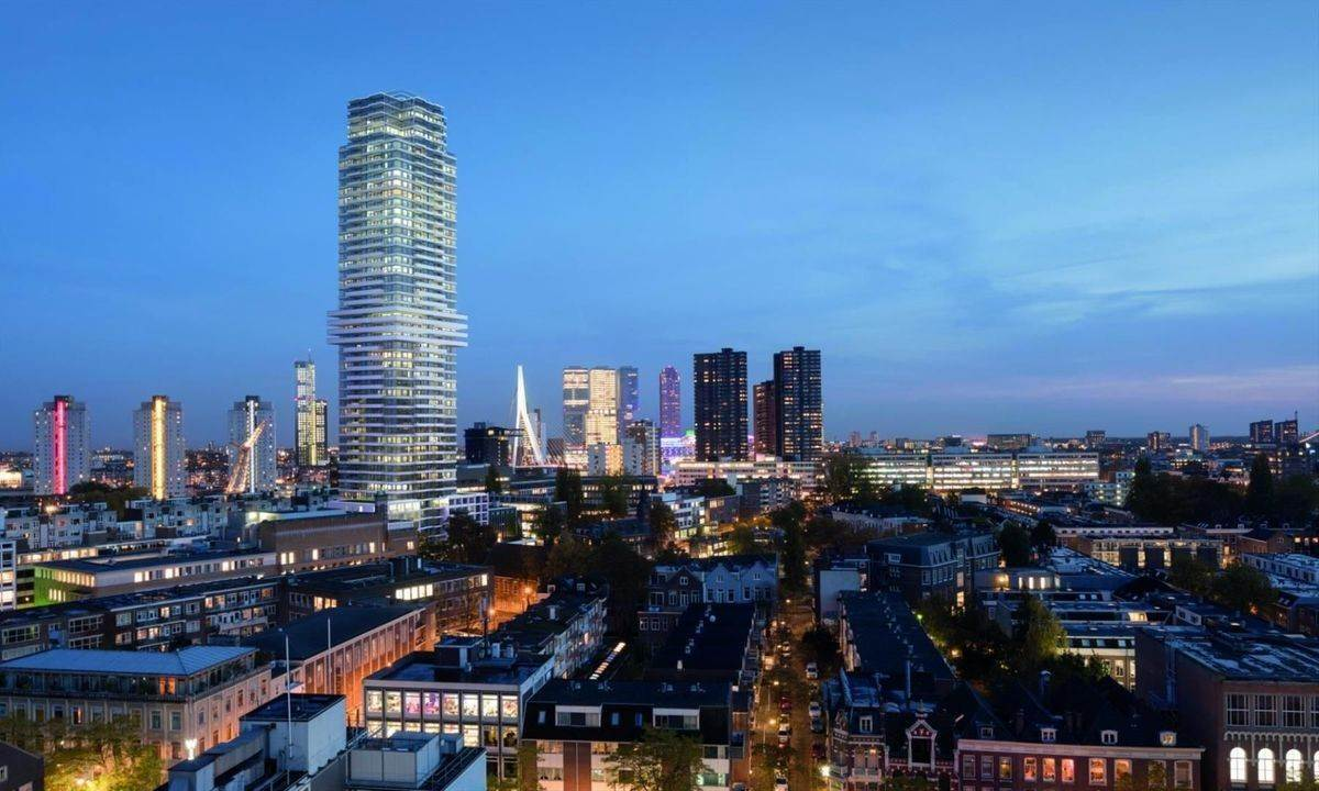 Residence/Apartment for Sale at Baan 64 f Rotterdam, South Holland,3011CC Netherlands
