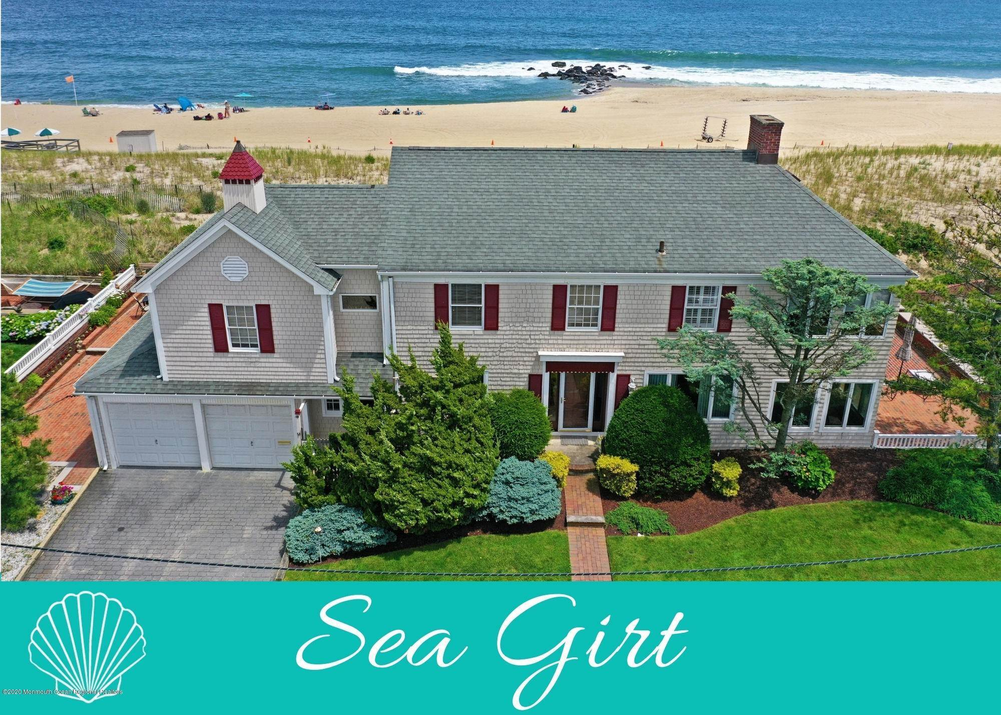 Single Family Home for Sale at 1003 Ocean Avenue Sea Girt, New Jersey, 08750 United States