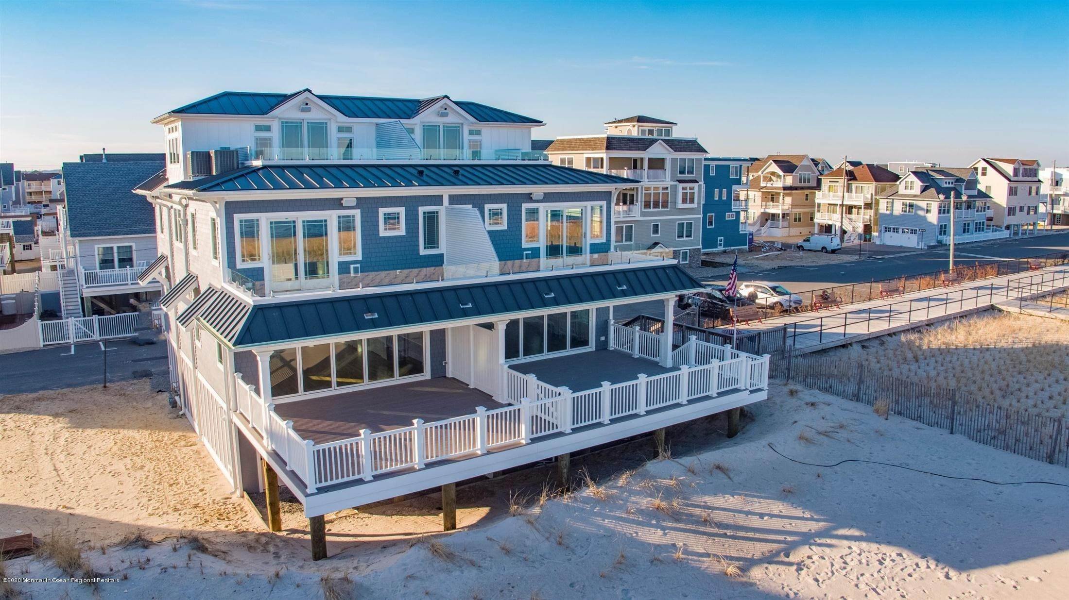 Single Family Home for Rent at 1728 Oceanfront Ortley Beach, New Jersey, 08751 United States