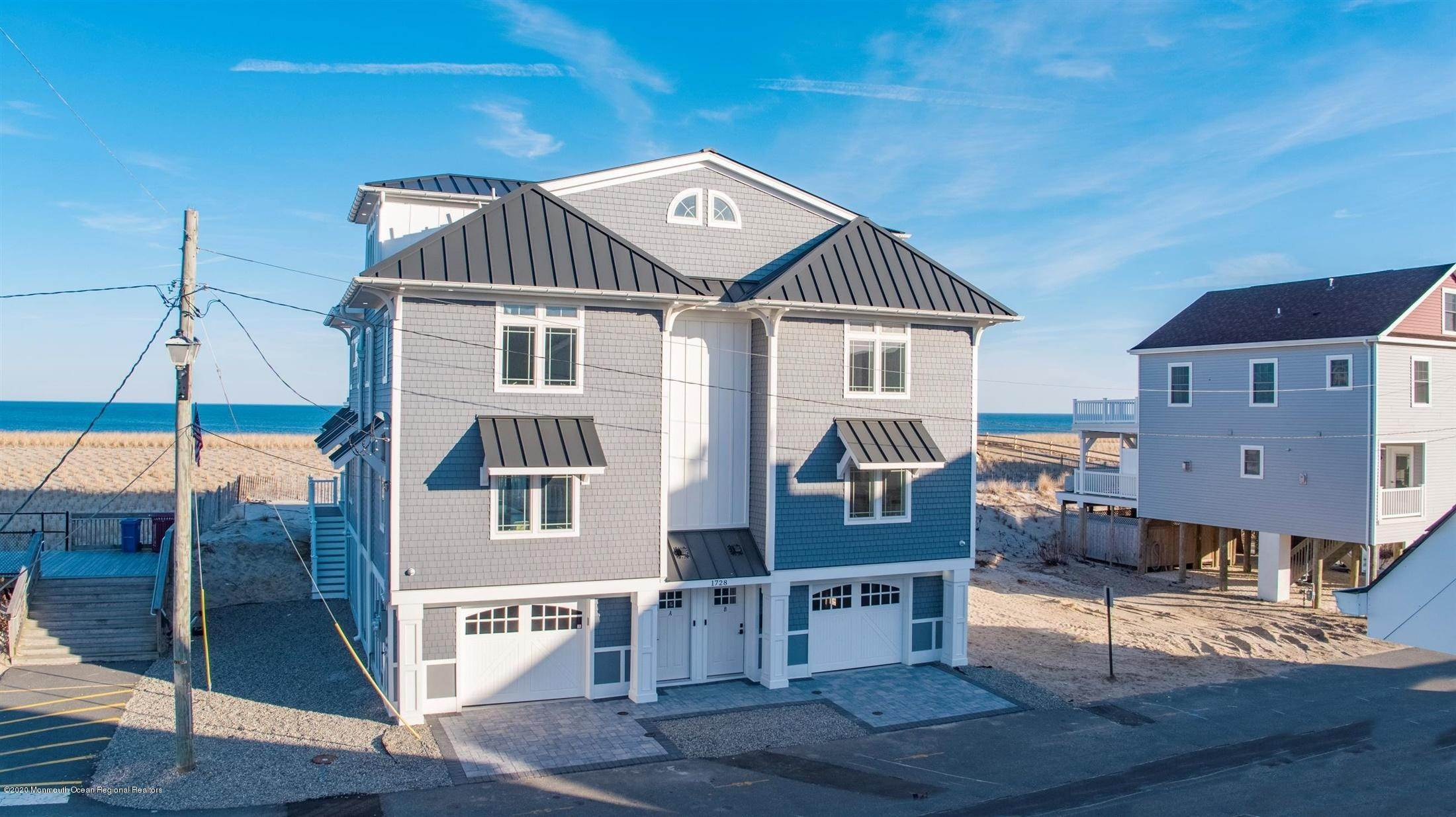 40. Single Family Home for Rent at 1728 Oceanfront Ortley Beach, New Jersey, 08751 United States