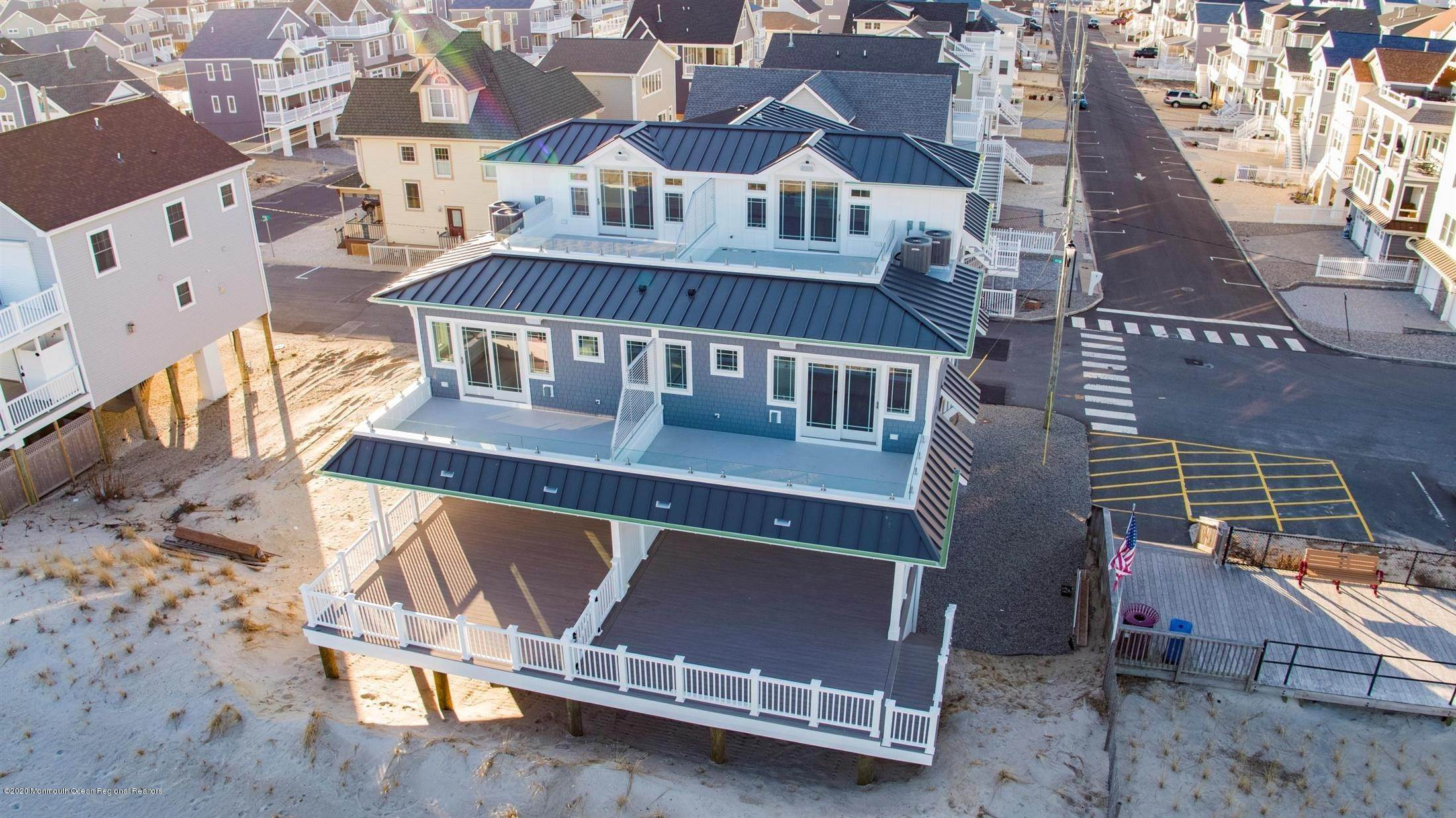 53. Single Family Home for Rent at 1728 Oceanfront Ortley Beach, New Jersey, 08751 United States