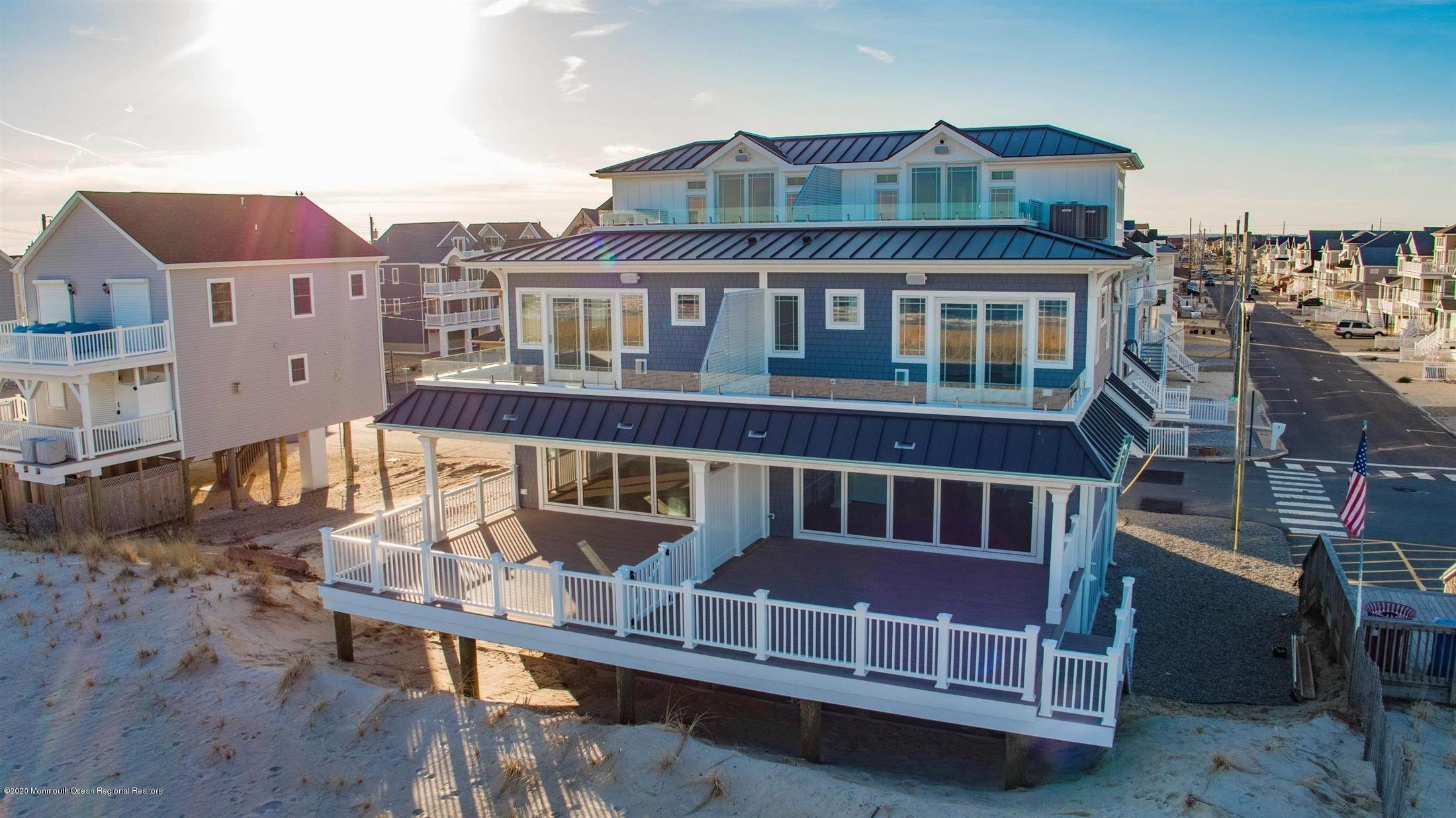 54. Single Family Home for Rent at 1728 Oceanfront Ortley Beach, New Jersey, 08751 United States