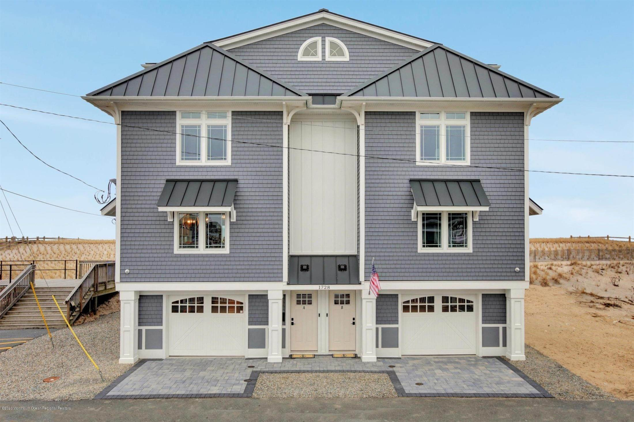 80. Single Family Home for Rent at 1728 Oceanfront Ortley Beach, New Jersey, 08751 United States