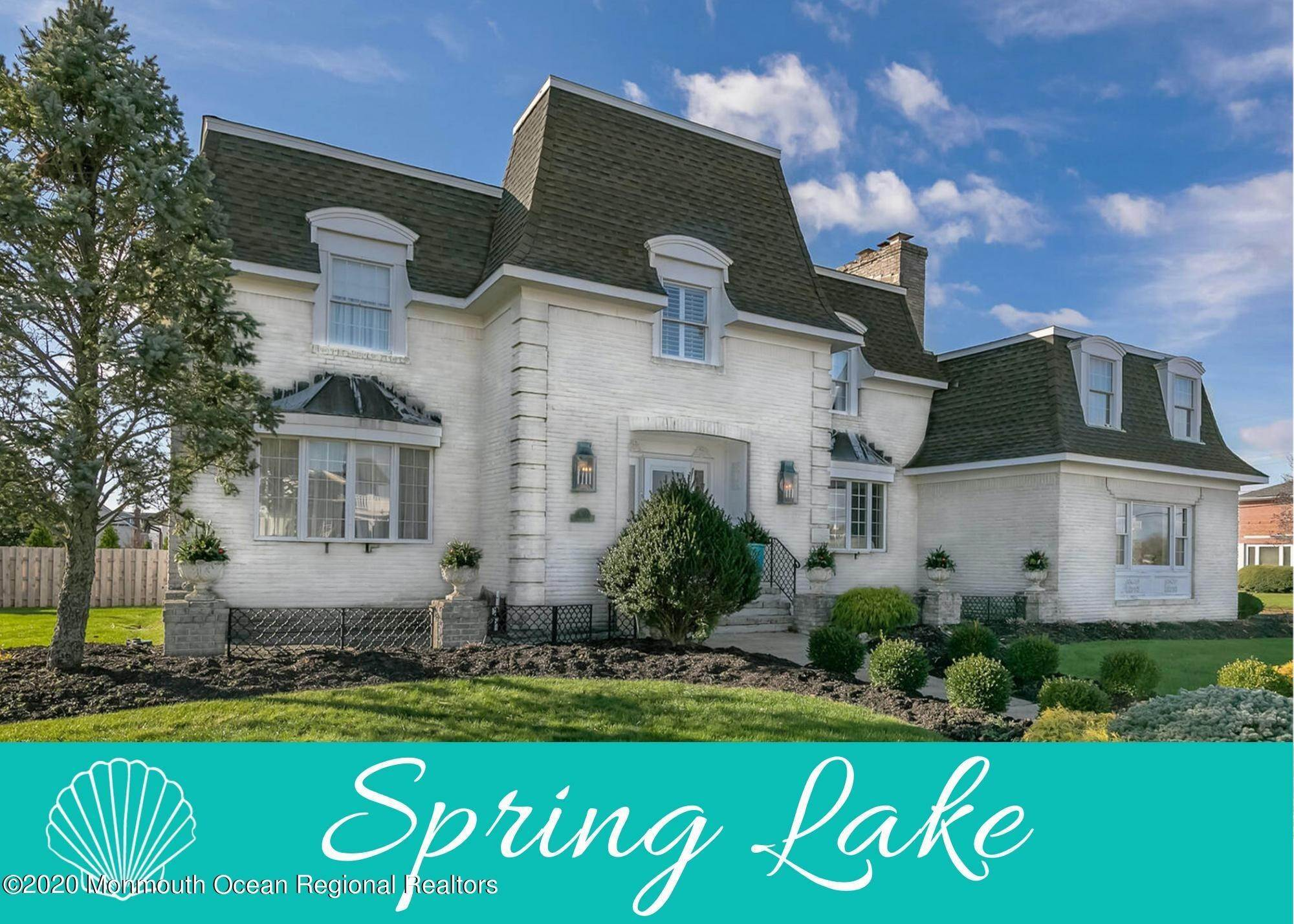 Single Family Home for Sale at 1 Monmouth Shire Lane Spring Lake, New Jersey, 07762 United States