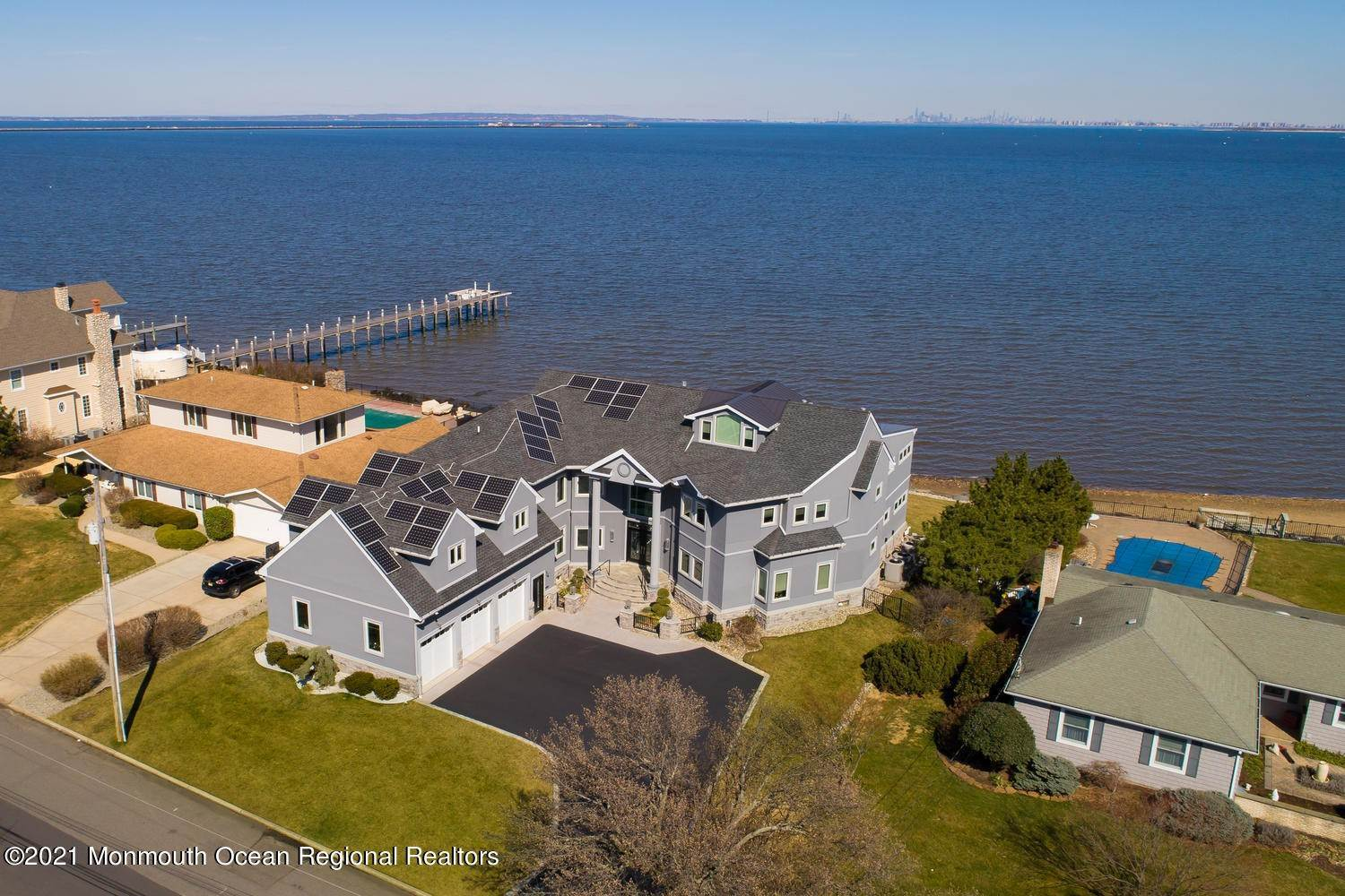 Single Family Home for Sale at 8 Harbor View Drive Atlantic Highlands, New Jersey, 07716 United States