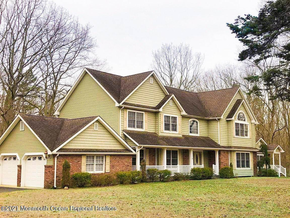 Single Family Home for Sale at 2440 Allenwood Lakewood Road Allenwood, New Jersey, 08720 United States