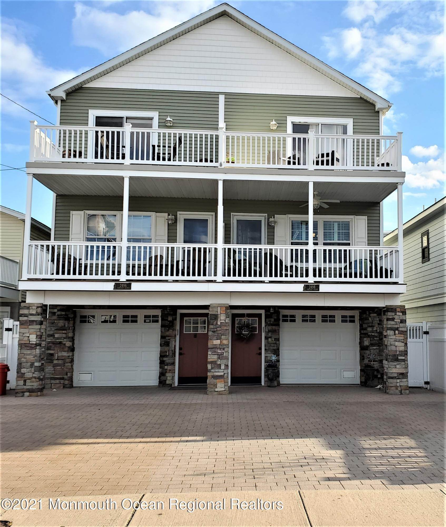 Condominium for Sale at 249 Carteret Avenue Seaside Heights, New Jersey, 08751 United States
