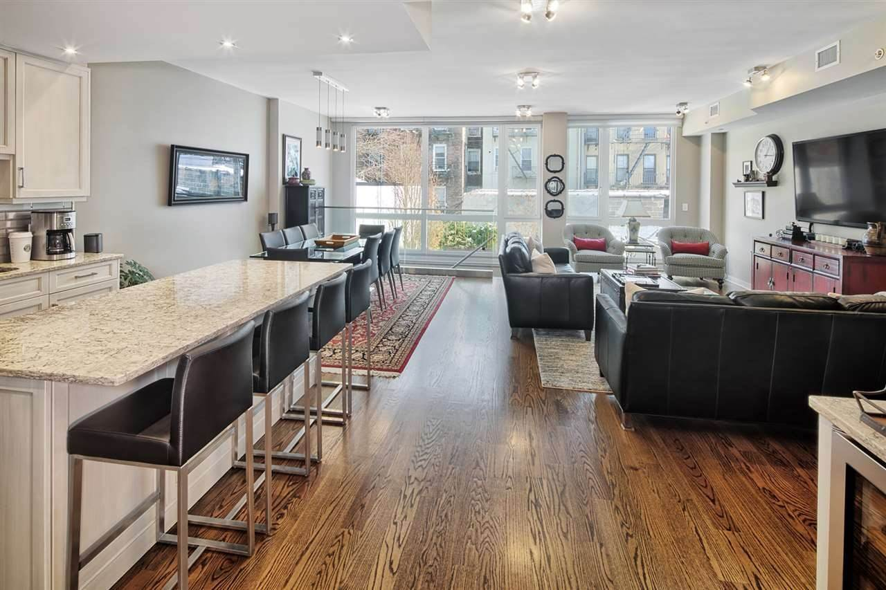 Condominium for Sale at 703 CLINTON STREET #1 Hoboken, New Jersey, 07030 United States