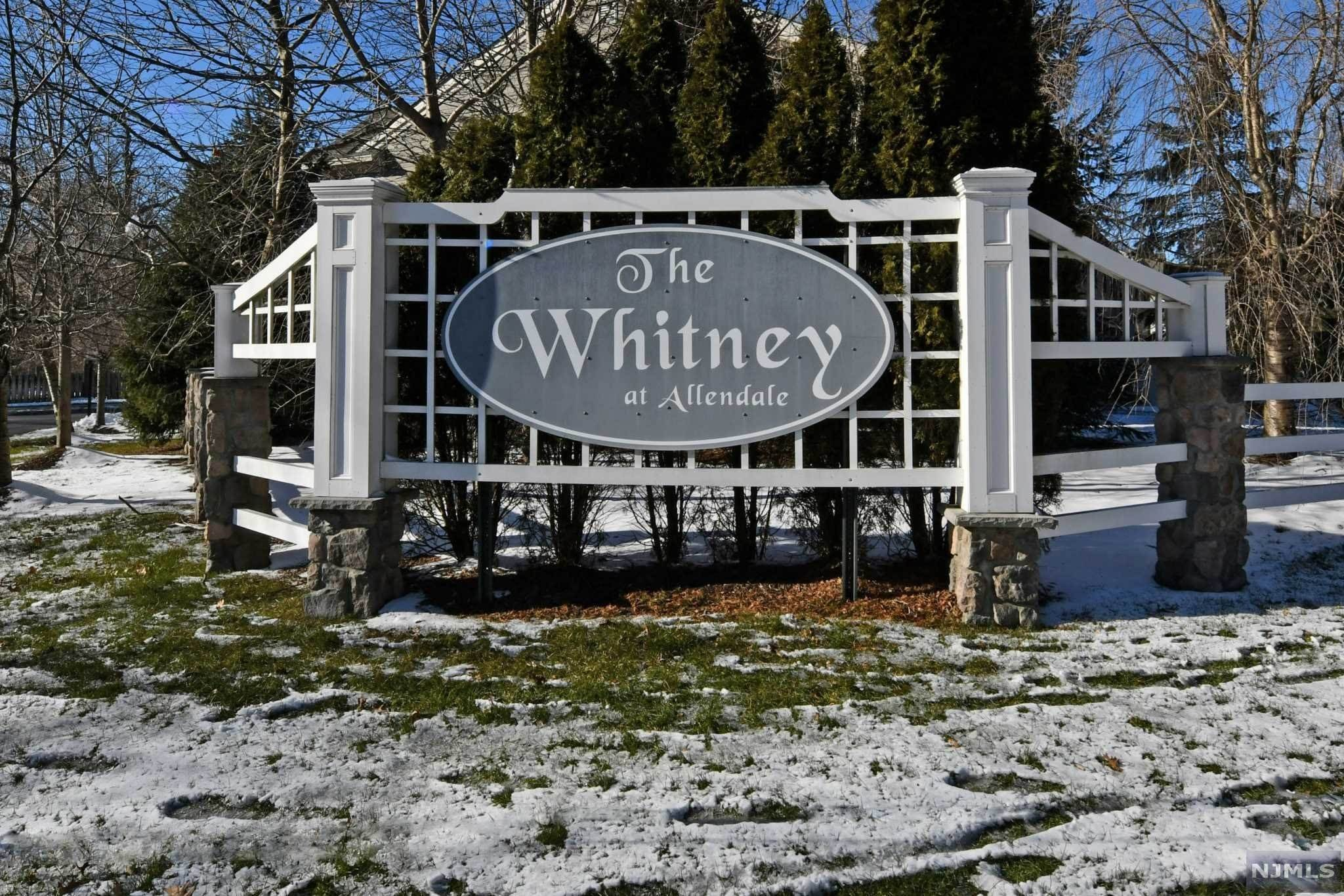 Condominium for Sale at 606 Whitney Lane Allendale, New Jersey, 07401 United States