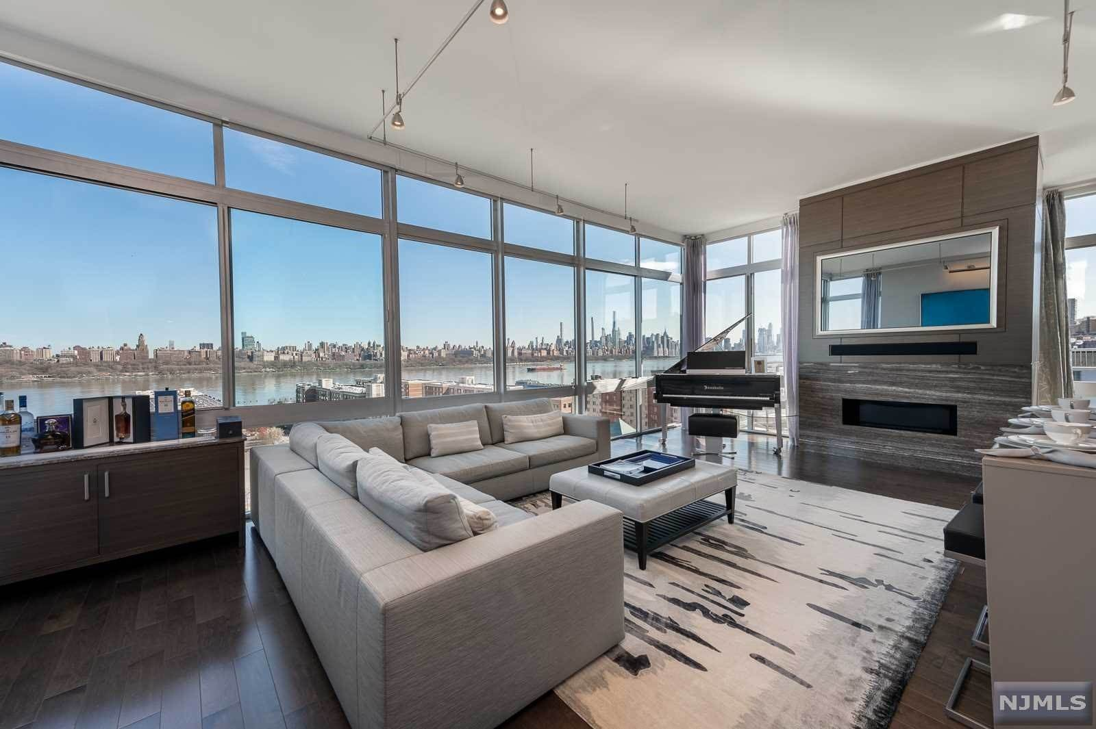 Condominium for Sale at 1828 Hudson Park #PH28 Edgewater, New Jersey, 07020 United States