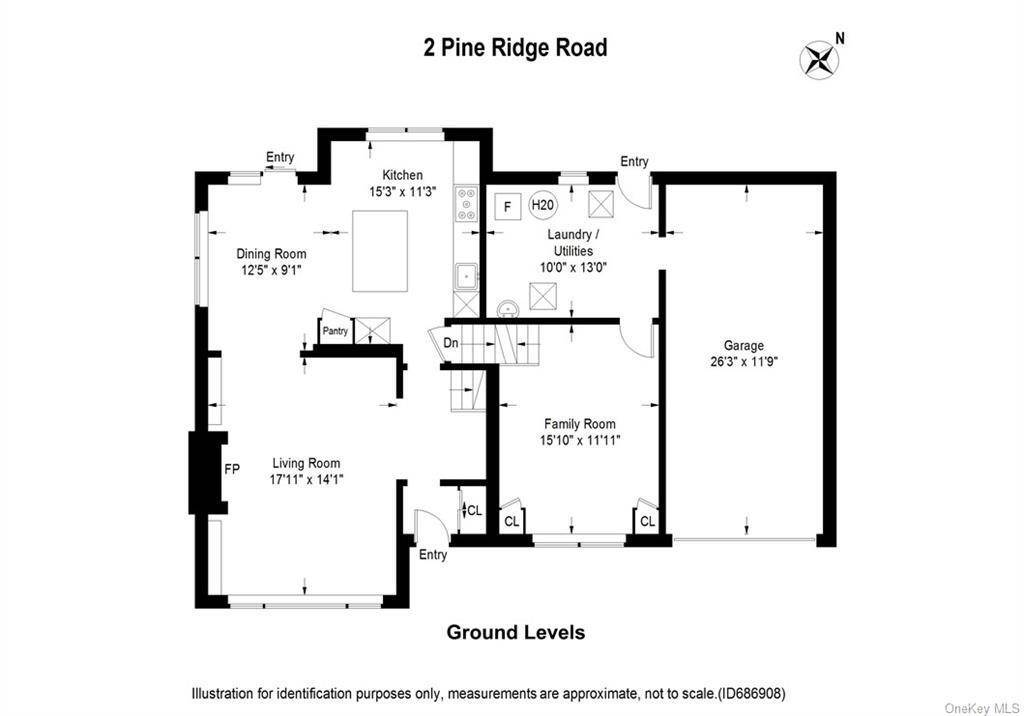 23. Single Family Home for Sale at 2 Pine Ridge Road Rye Brook, New York, 10573 United States
