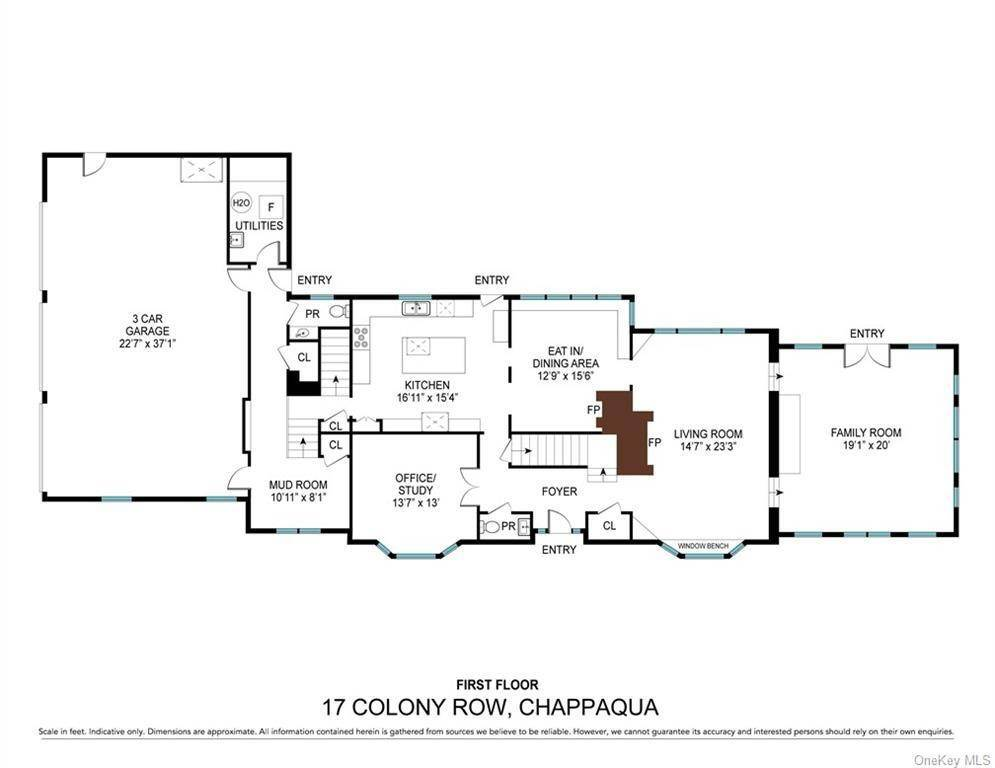30. Single Family Home for Sale at 17 Colony Row Chappaqua, New York, 10514 United States