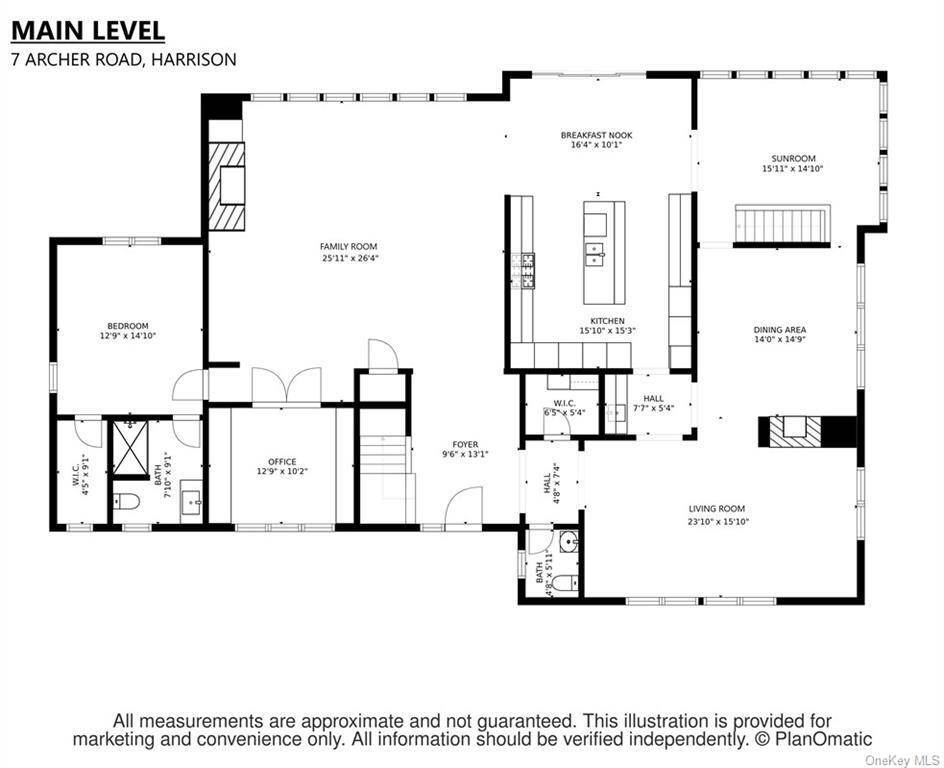 34. Single Family Home pour l Vente à 7 Archer Road Harrison, New York, 10528 États-Unis